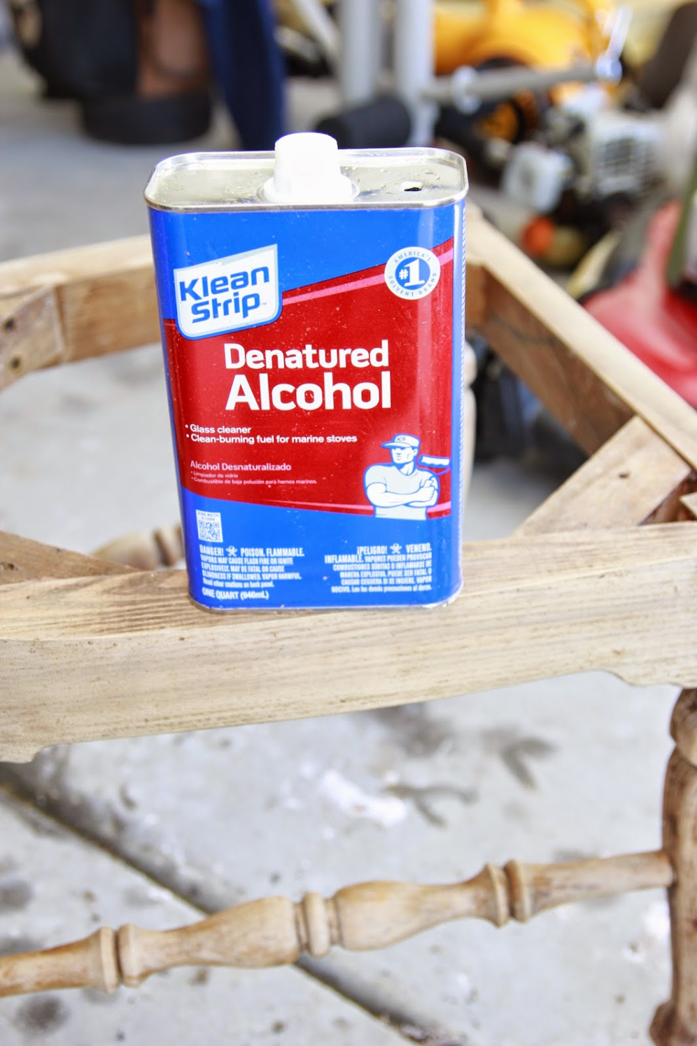 Photo of DIY Hack: Using Denatured Alcohol to Strip Wood Stain! | Bless'er House