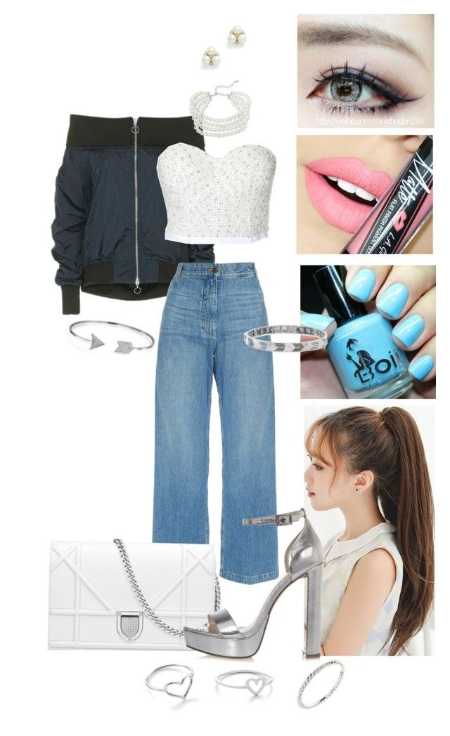 """Tea-Tae"" by elsamaillot on Polyvore featuring mode, Topshop, Rachel Comey, Bling Jewelry, Kenneth Jay Lane, BCBGeneration, River Island, Ben-Amun, Fiebiger et Jordan Askill"