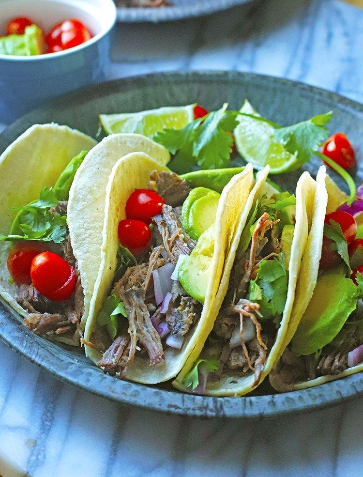 FILIPINO STYLE BEEF ADOBO TACO. Giving a nod to my ...