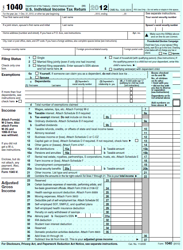 Printable   Tax Form   Or A For   Desserts