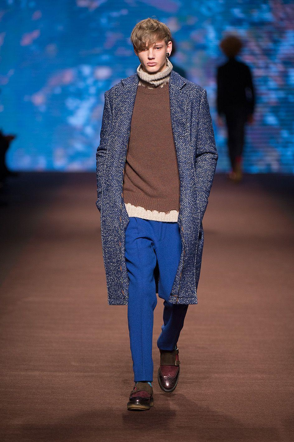 Etro man autumn winter fashion show discover more bit