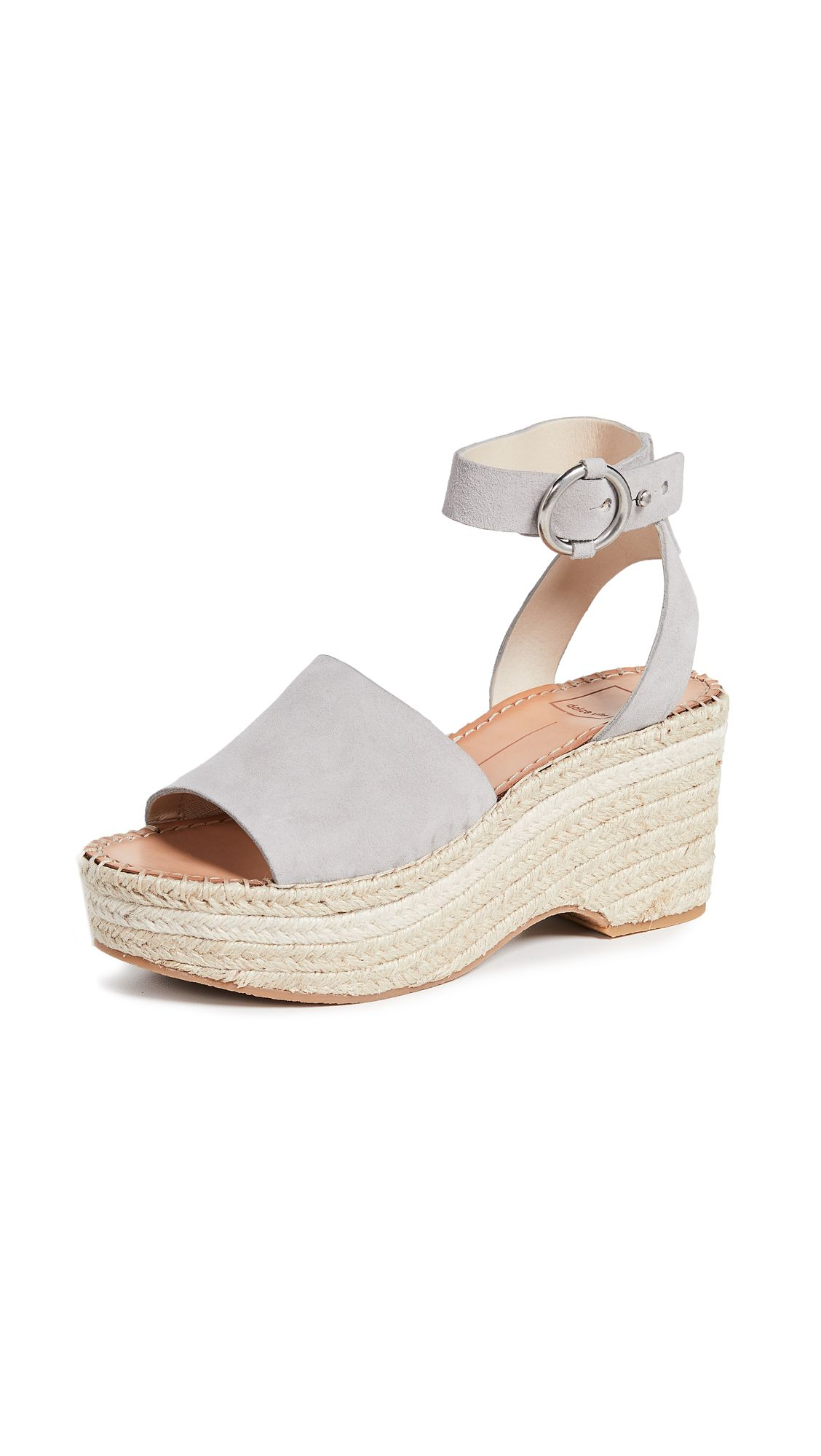 402b8b6a944c Lesly Ankle Strap Espadrilles by Dolce Vita in Grey in 2019
