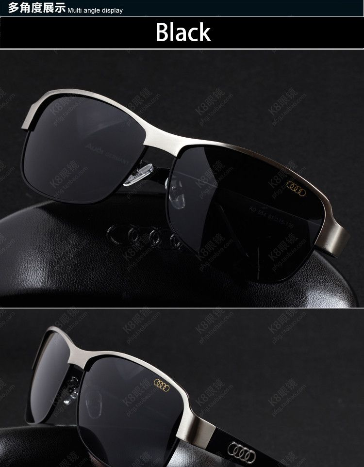 6de046ab65c Mens Sunglasses Classic Fashion Brand Sun glasses For Men Polarized  Sunglasses Audi Sunglasses Drivers Driving Sunglasses 554 – bellawares