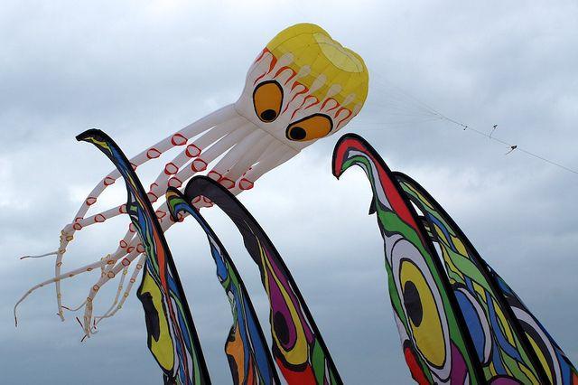 "The ""Kraken"" likes the pretty kites | Flickr - Photo Sharing!"