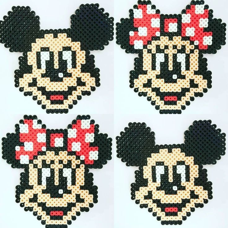 Mickey Und Minnie Mouse Perlerperlen Von