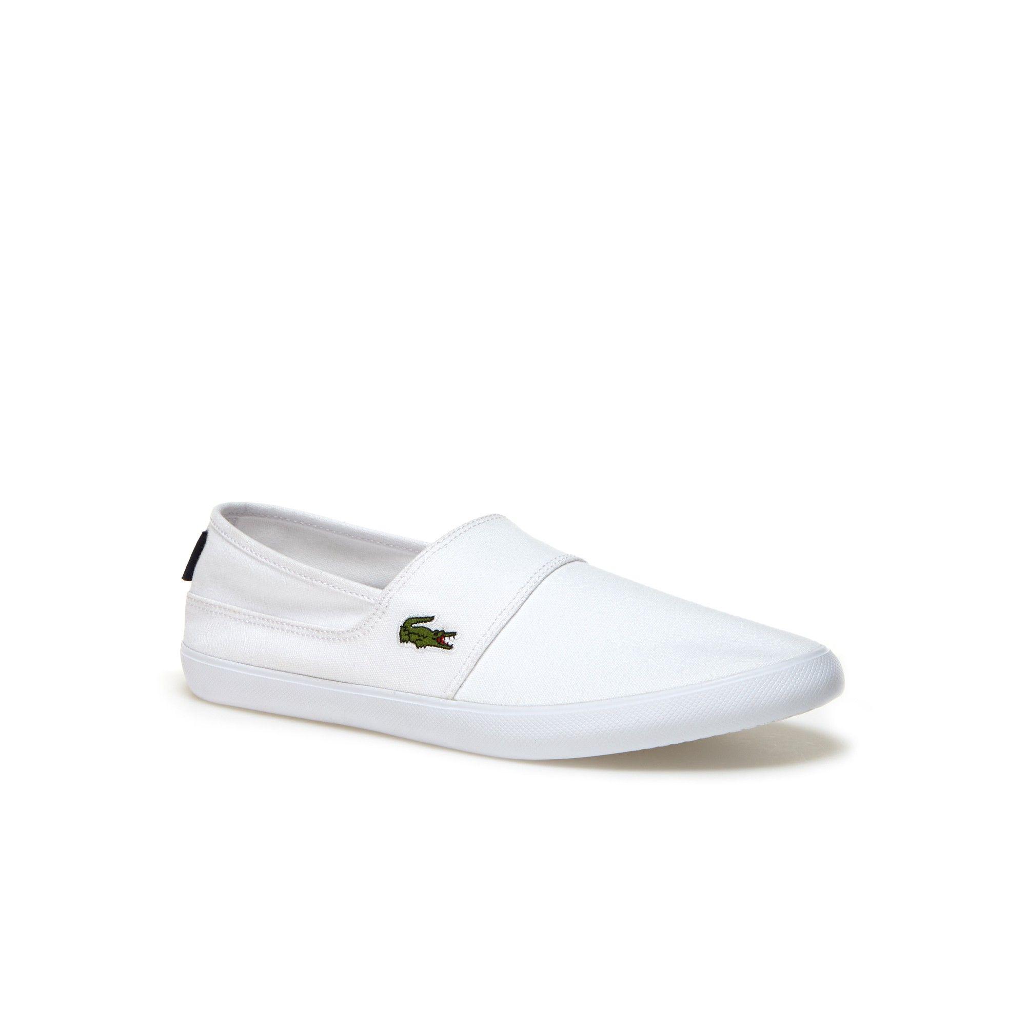 e65405d23d5438 LACOSTE Men s Marice Canvas Slip-ons.  lacoste  shoes