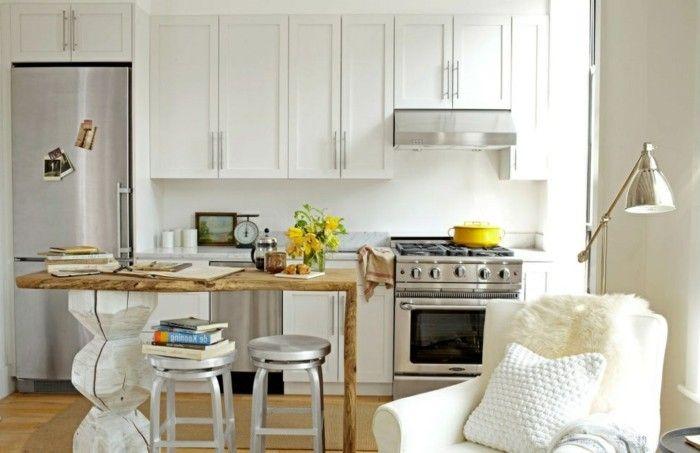 Aménager une petite cuisine - 40 idées pour le design magnifique