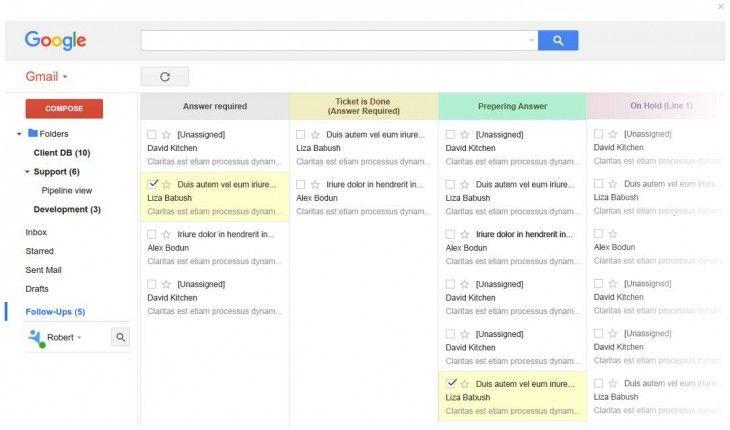 Sabías que NetHunt CRM, otro intento para transformar Gmail en un buen CRM