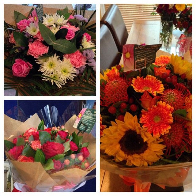9450b35d97225 Get well soon flowers from my lovely family and work  spoilt  flowers   longacres  recovery  poorly  ill