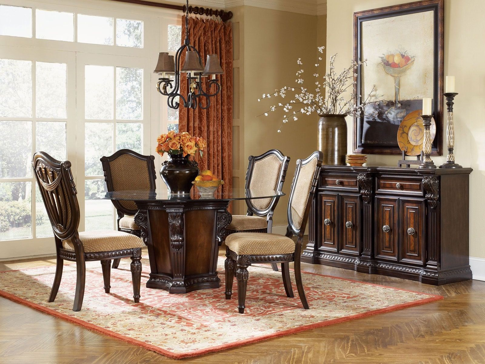 Decorating Ideas For A Dining Room Buffet