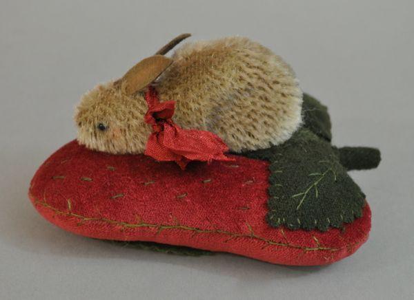 wool strawberries in basket - Google Search