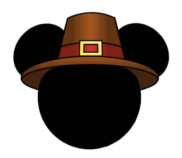 Pilgrim Hat Mh 1028x892px Disney Thanksgiving Disney Scrapbook Disney Crafts For Kids