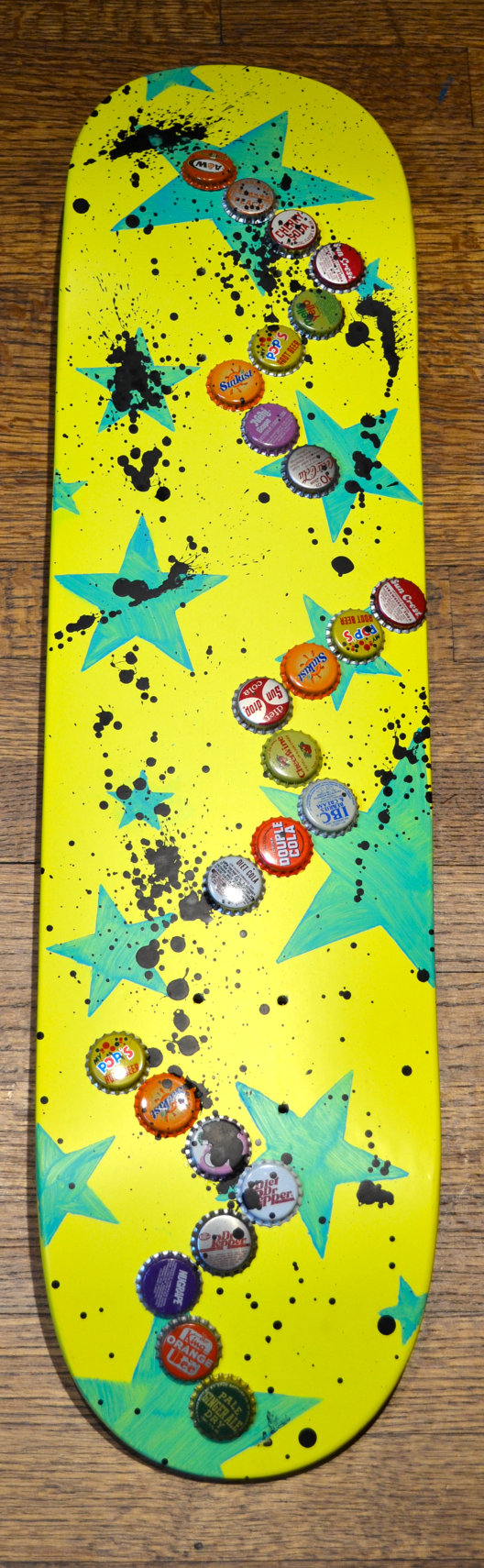 Original Skateboard Deck Wall Art by artbyjulieg on Etsy, $50.00 ...