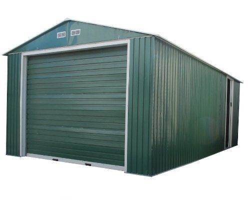 Duramax 55261 Metal Garage Shed With Side Door 12 By 32 Inch Review Garage Design Metal Garages Duramax Sheds