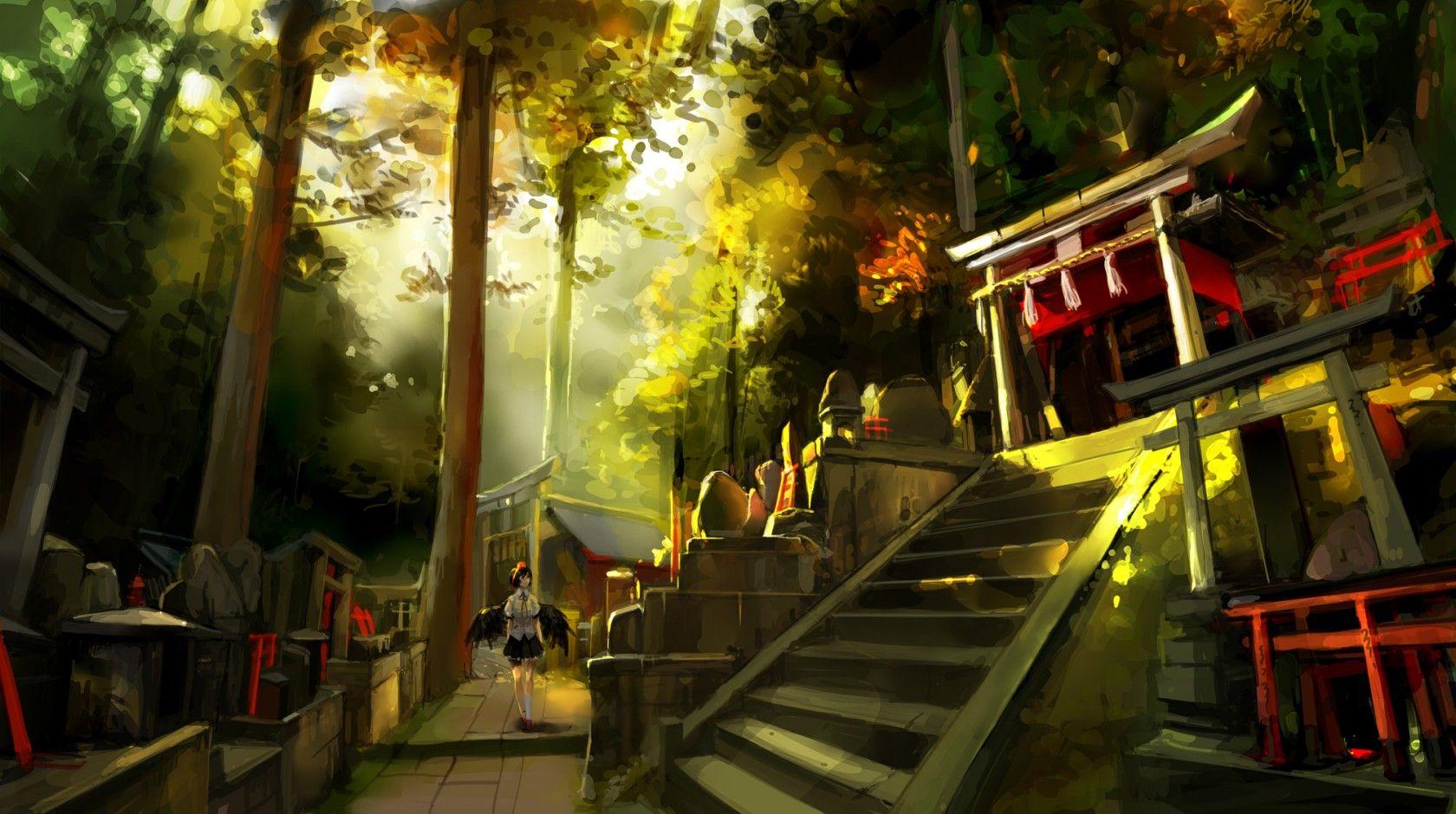 東方 背景 壁紙 Tim Với Google 幻想郷 コンセプトアート 壁紙