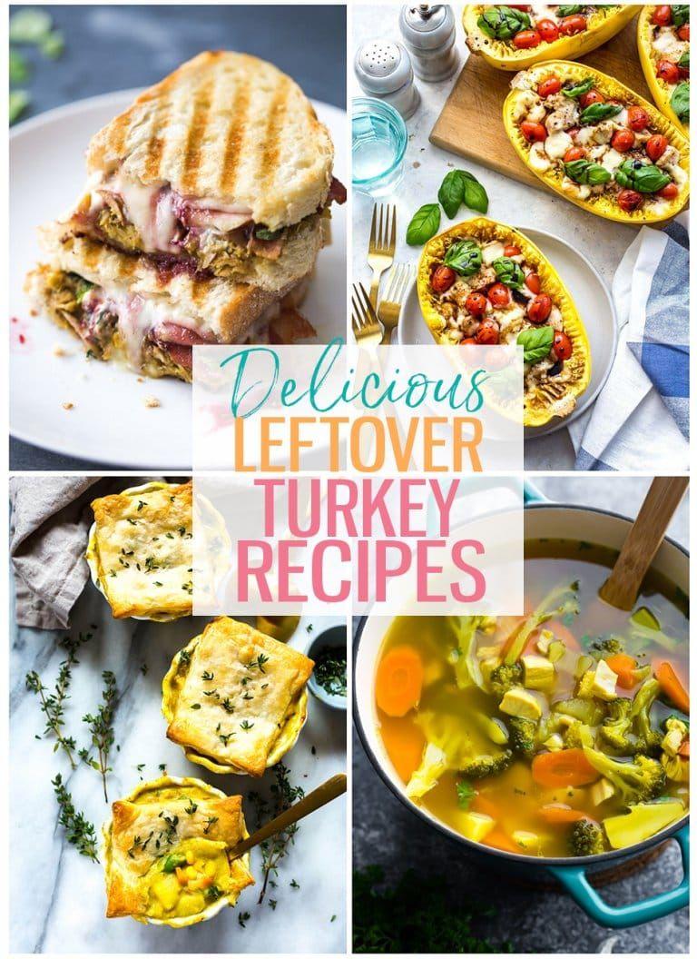 17 Delicious Leftover Turkey Recipes - The Girl on Bloor #leftoverturkeyrecipeseasy