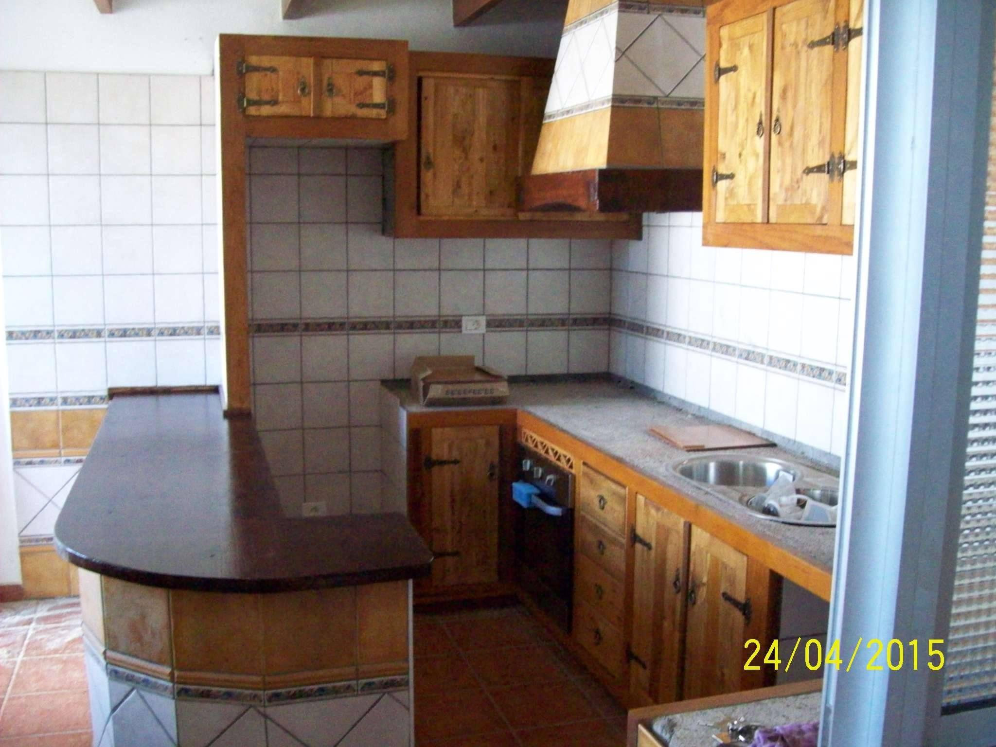Muebles De Cocina Confeccionado Con Maderas Recicladas Y Te Idos  # Muebles De Cocina De Madera