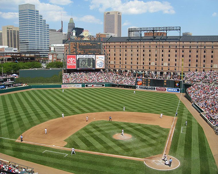 Camden Yards Oriole Park At Camden Yards We Have Tickets To All Games At The Yard Camden Yards Mlb Stadiums Baseball Park