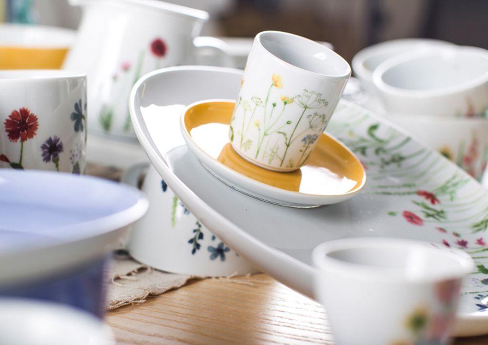 magic grip wildblume dekor lisa keller f r kahla porzellan neu new kahla pinterest. Black Bedroom Furniture Sets. Home Design Ideas