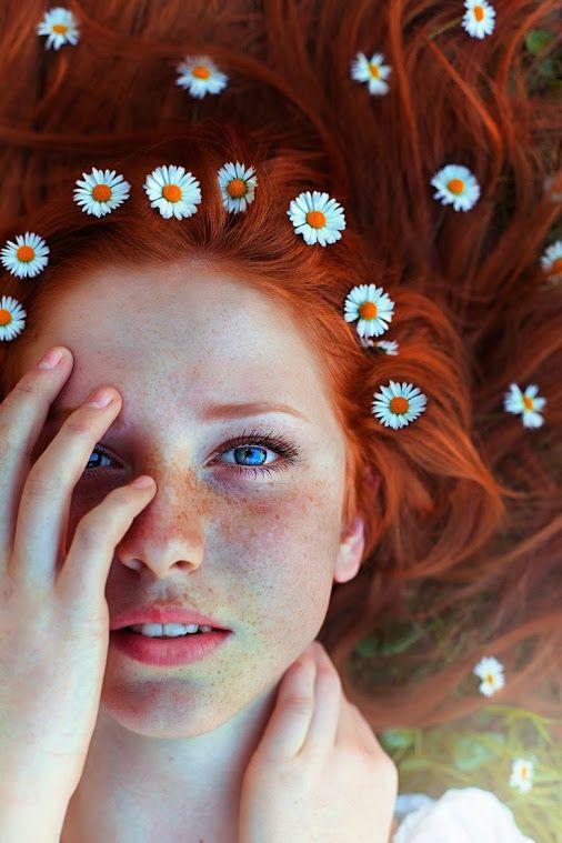 Immagini ragazze capelli rossi
