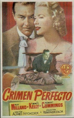 Programa de Cine - Crimen Perfecto  ¡¡ VENDIDO !!