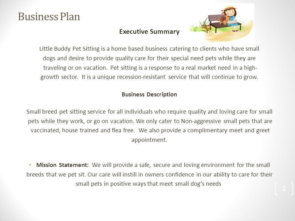 Business plan for a pet sitting business pay for communication cv