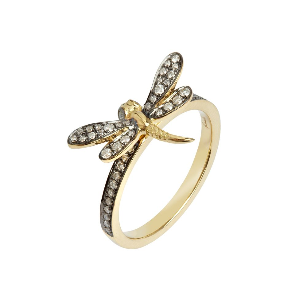 Love Diamonds Dragonfly Ring  Oh yeah, I could wear that