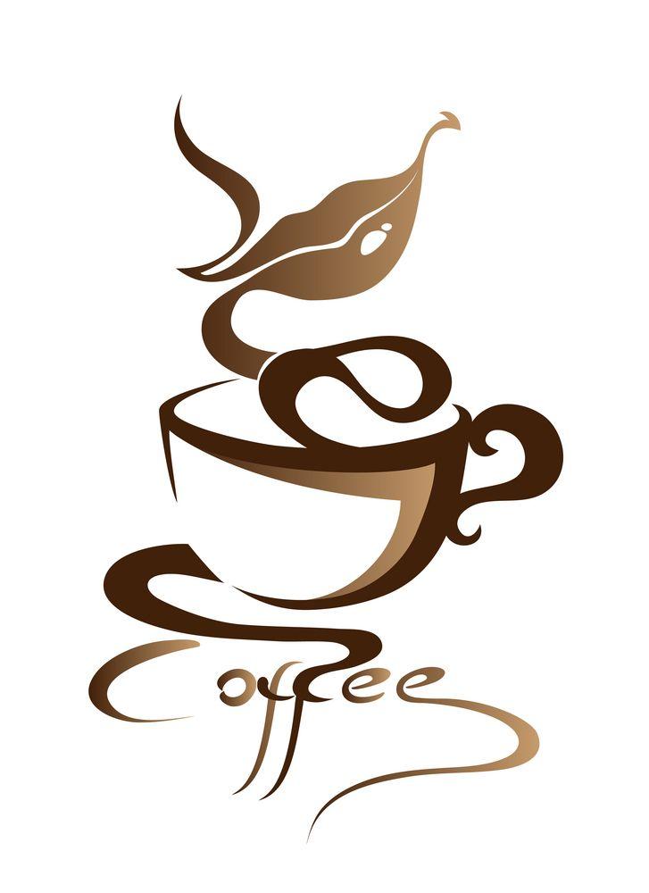 Coffee Mug Wall Decal - Coffee Cup Vinyl Decal - Coffee Shop Decor - Kitchen…