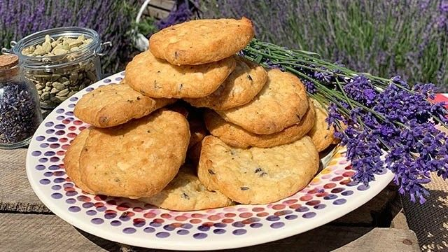 Phil's lavender cardamom shortbread and scones ...