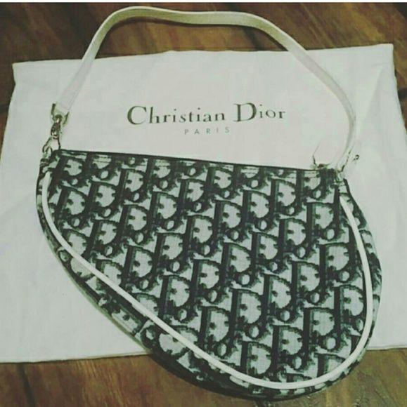 Vintage Christian Dior Saddle bag Item  VINTAGE Christian Dior Saddle bag  Price    Size  n a Condition  Vintage! Gently Used, great condition! 3307abb7d0