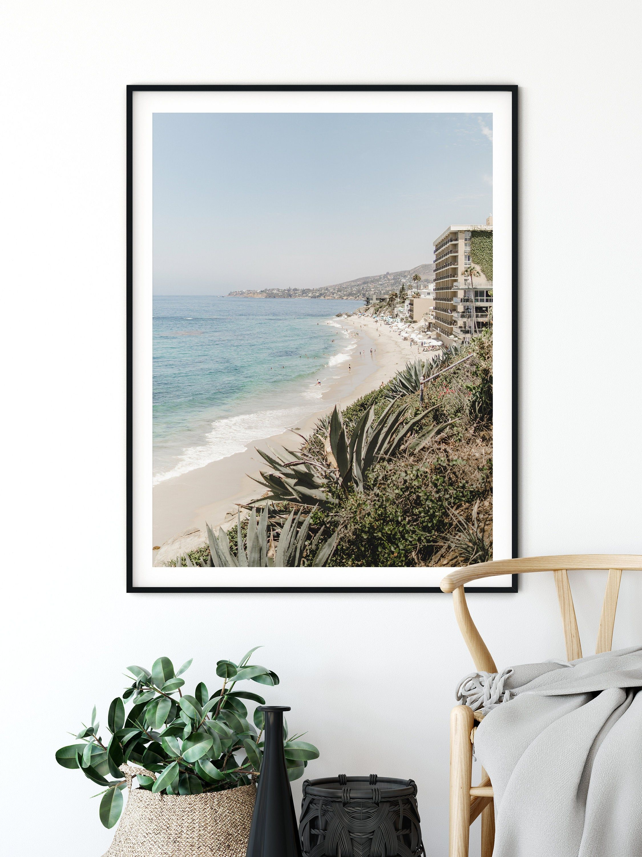 Coastal Wall Art Set Of 2 Prints California Beach Wall Art Etsy In 2020 Beach Wall Art Coastal Wall Art Coastal Prints