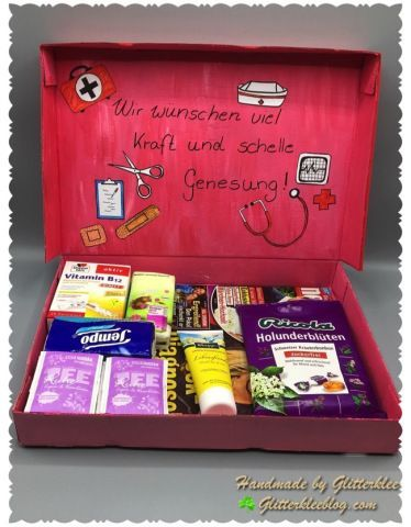 Photo of Gute Besserung Box DIY