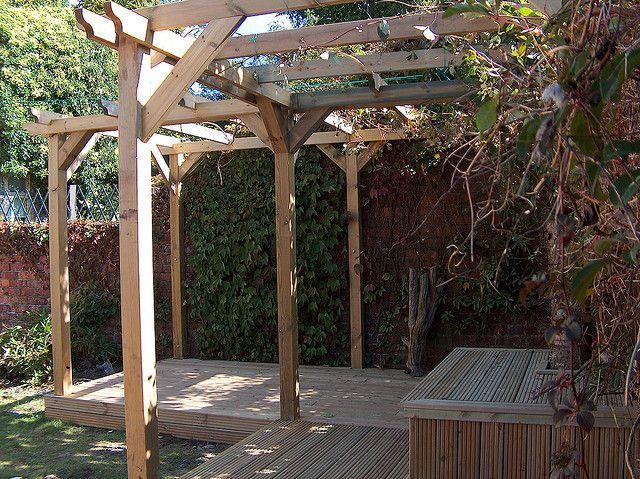 pin by georgina forsyth on pergolas garden retreats. Black Bedroom Furniture Sets. Home Design Ideas
