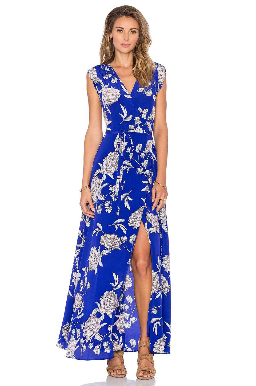 74ec70b2746f Yumi Kim Swept Away Maxi Dress in Royal Blue Carnation | REVOLVE ...