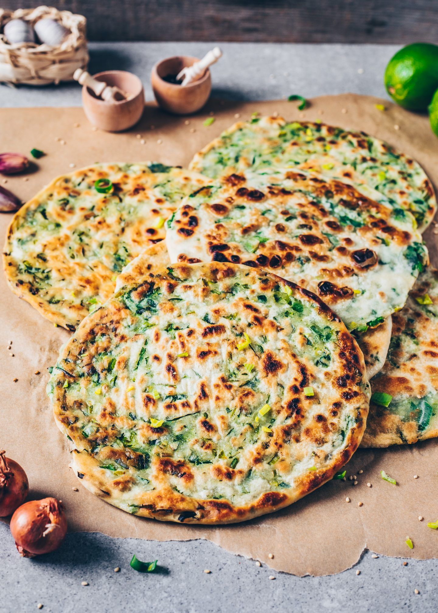 Photo of Chinese style pancakes with spring onions – Bianca Zapatka | Recipes