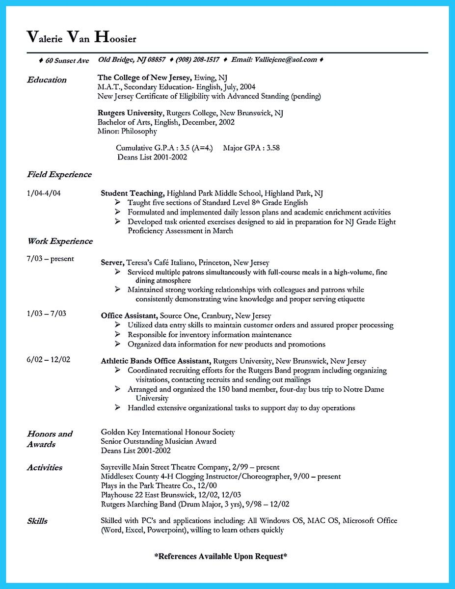 Cool Flawless Cake Decorator Resume To Guide You To Your Best Job Server Resume Resume Guide Resume Examples