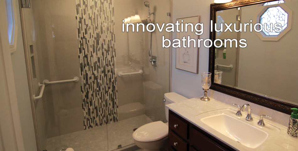 Beautiful bathroom!  Remodeled by Maeser Master Services, Louisville, Kentucky.