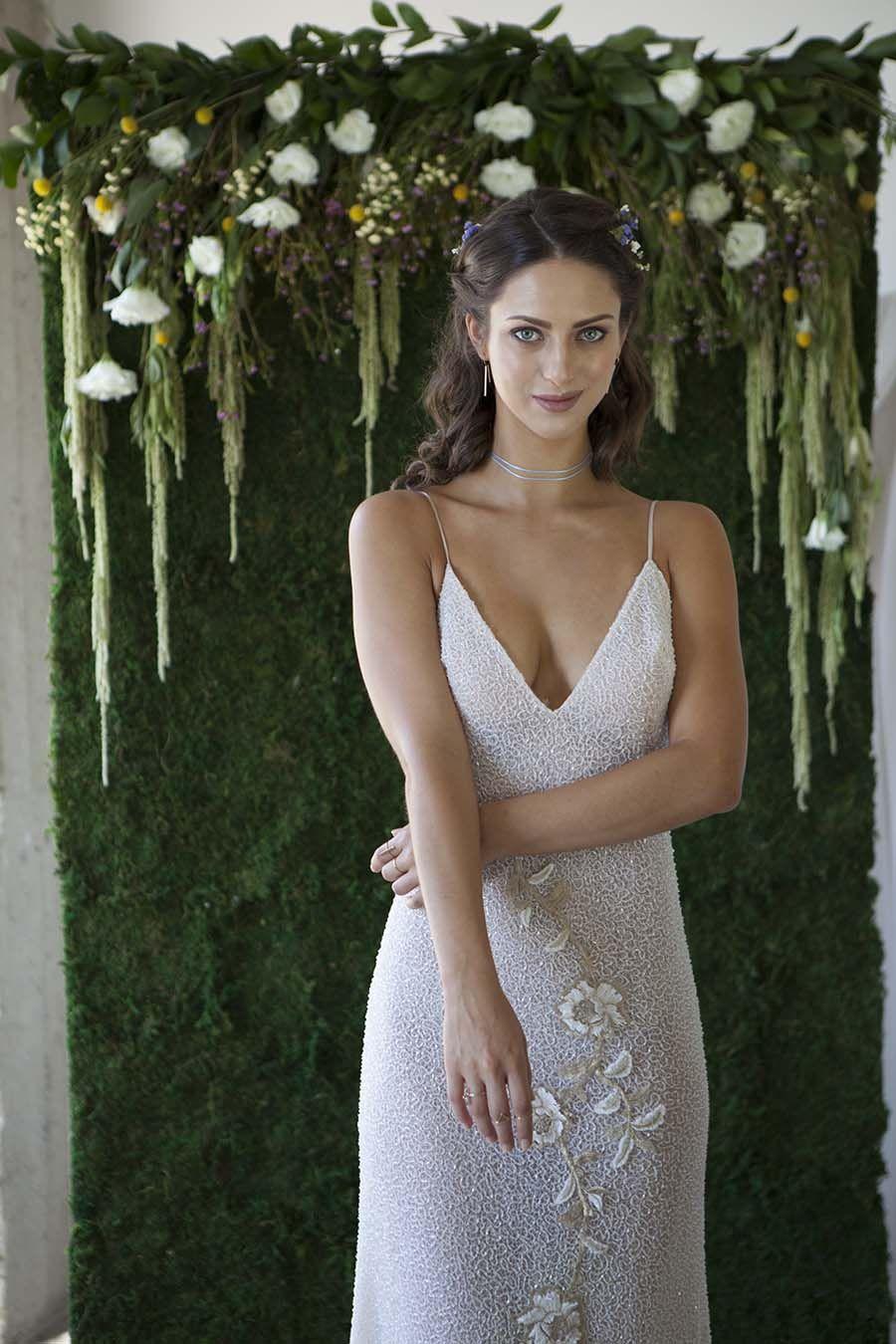 5d06bb9a8376 Wedding Dresses Tara Lauren Bridal Collection, wedding ideas, wedding  inspiration, bridal gown, bohemian, 70's, feminine, romantic