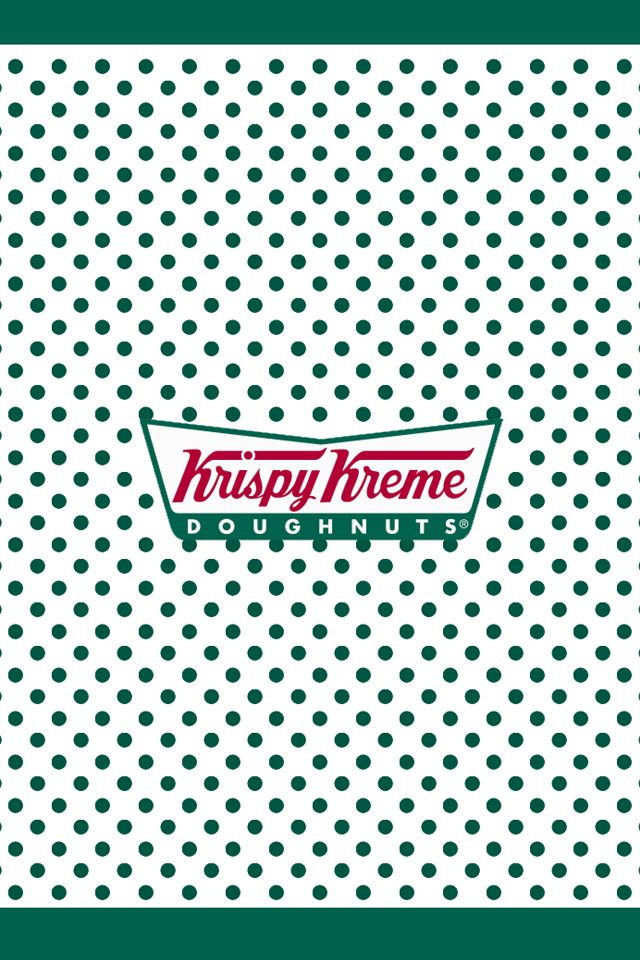 Nice Retro Style And Delicious Doughnuts From Krispy Kreme I Love How Their Branding Harks Back To Their Krispy Kreme Krispy Kreme Doughnut Cream Wallpaper