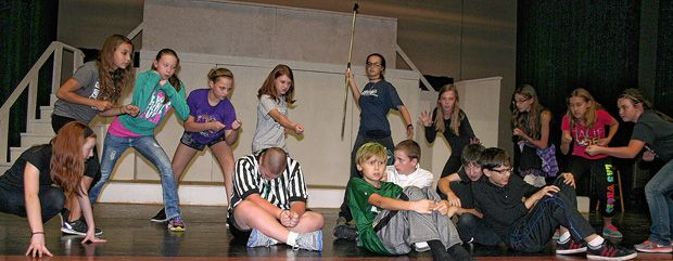 Northridge Middle School Students Are Preparing To Take Audiences