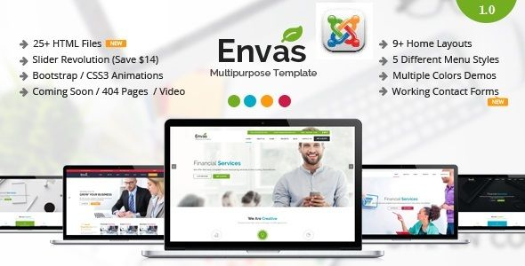 Envas multipurpose business joomla template envas is a envas multipurpose business joomla template envas is a responsive joomla template best suitable for fbccfo Images