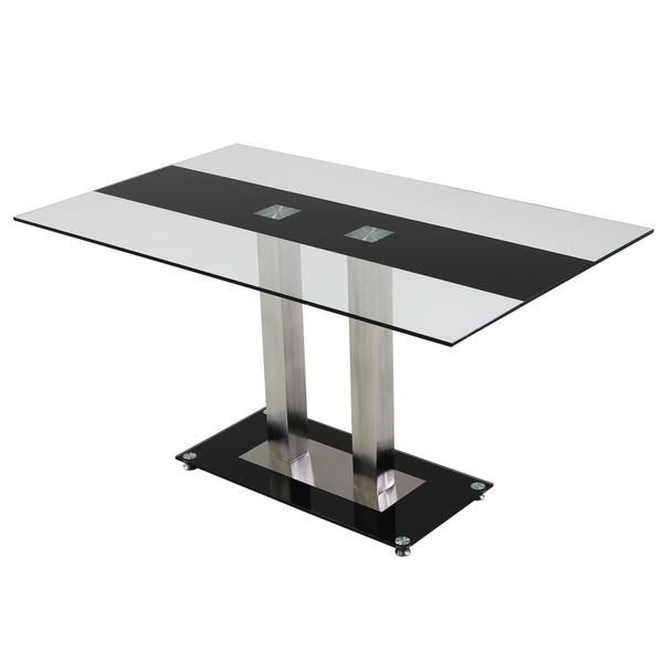 El Dorado Furniture  Stripe Rectangular Dining Table  Kitchen Unique Eldorado Dining Room Inspiration Design