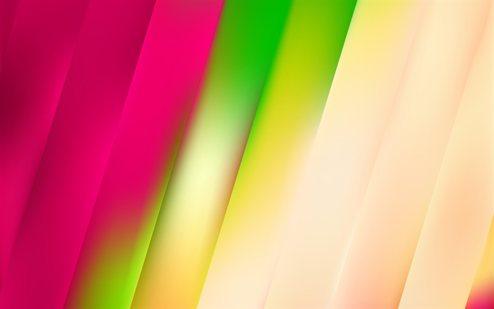 Download Wallpapers Colorful Lines Art Material Design Creative Geometry Striped Background Besthqwallpapers Com Material Design Abstract Wallpaper Abstract