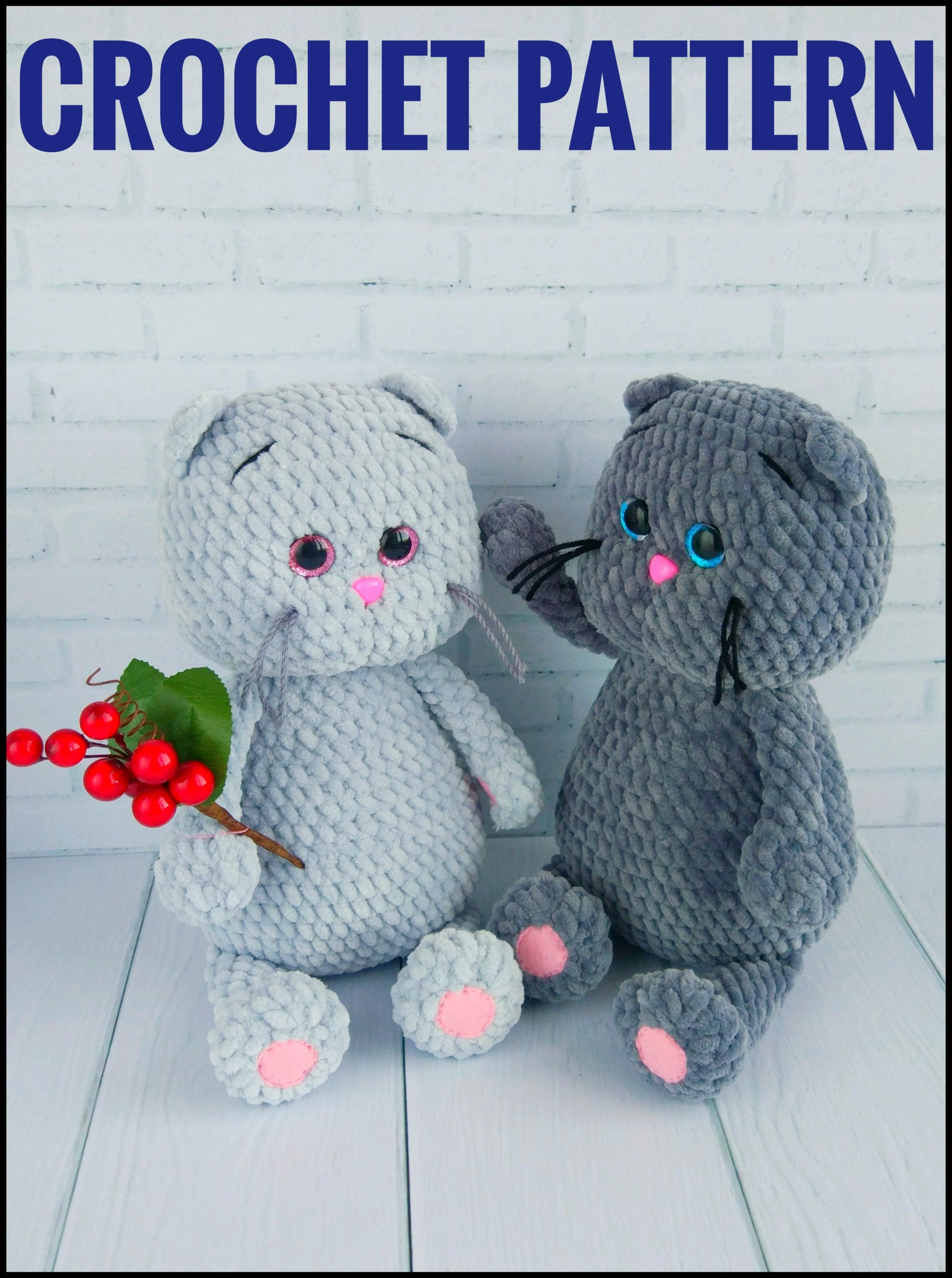 amigurumi pattern cat amigurumi doll pattern amigurumi animals kitten crochet pattern toy pattern crochet Pdf download Cat Pattern Softy