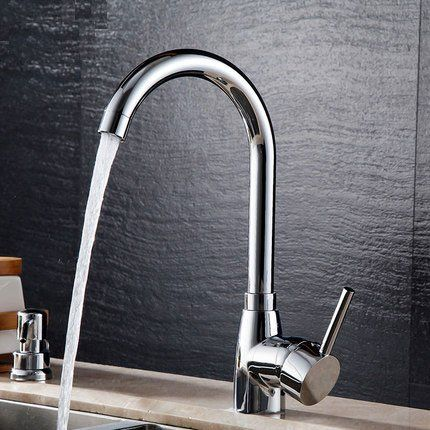 Bathroom Bathtub Faucet Solid Brass Chrome Basin Tap Home Decor Hot Cold Mixer Single Handle Brushed Steel K Kitchen Basin Sink Sink Mixer Taps Bathtub Faucet