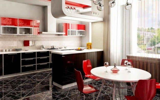Dekorasi Dapur Minimalis Dengan Furnitur Kitchen Set Cantik Griya Indonesia