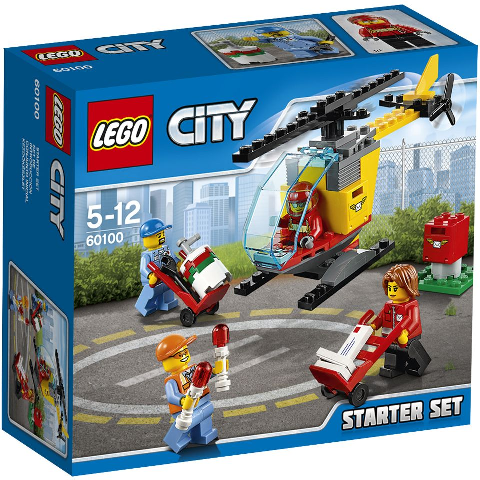 Pin lego 60032 city the lego summer wave in official images on - Buy Lego City Airport Starter Set 60100 Here At The Hut We