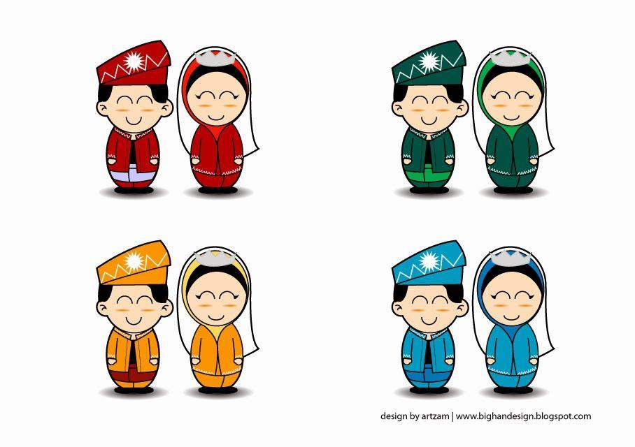 Percuma Vektor Kartun Kahwin Bighandesign Blog Cartoon Character Vault Boy