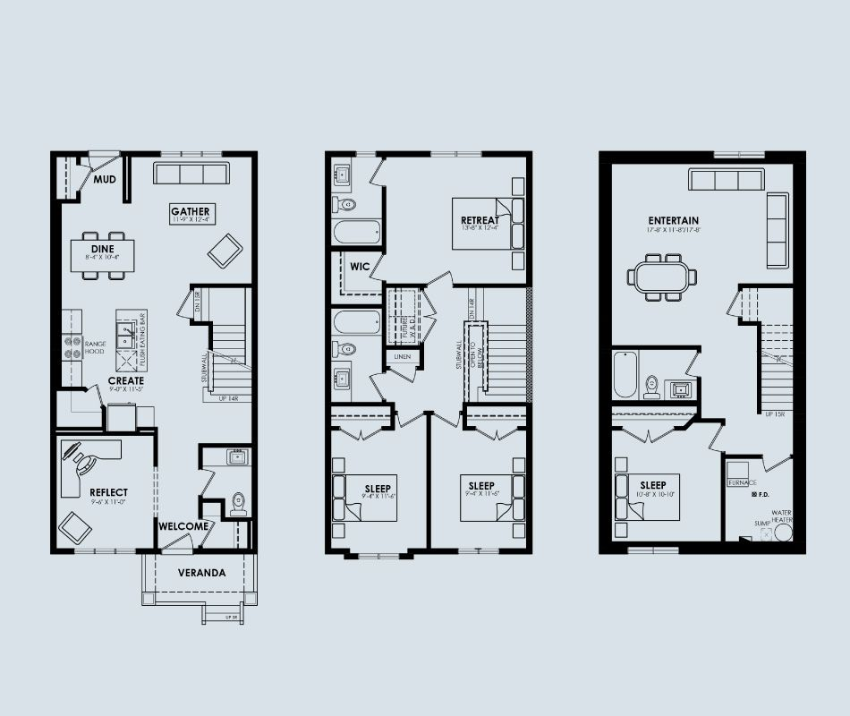 Ariel Impact Homes Village At Griesbach New Homes Design House Plans