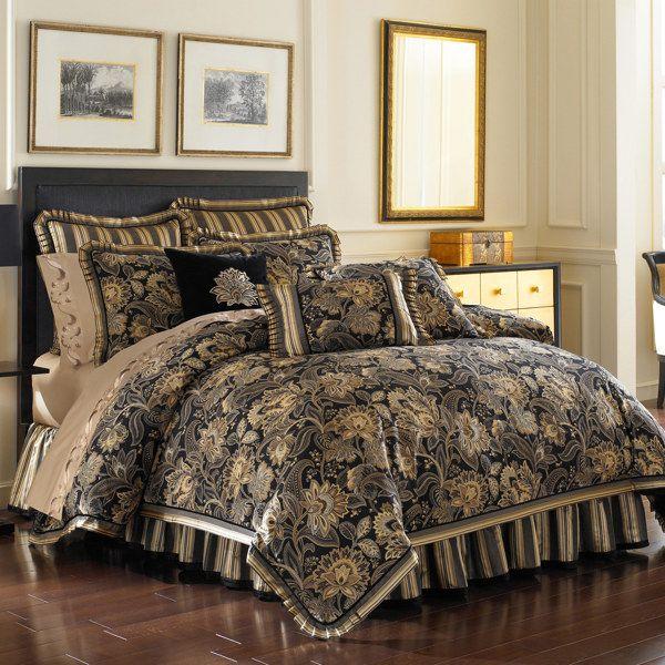 J Queen New York Alicante Comforter Set Comforter Sets Queen Comforter Sets King Comforter Sets